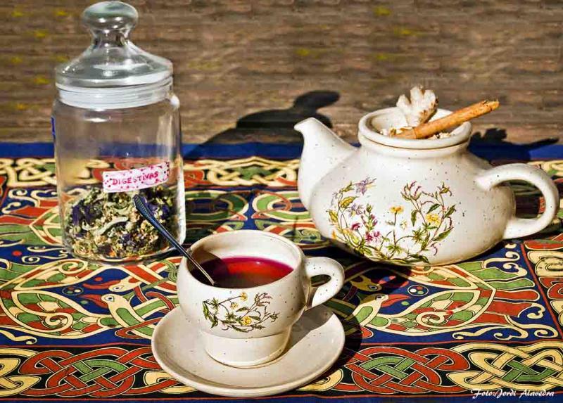 Ponche Caliente – Leche de Arroz y Jengibre – Tisana Digestiva